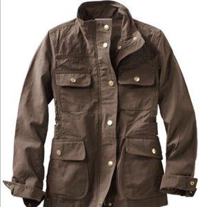 LL Bean Signature Waxed Field Jacket